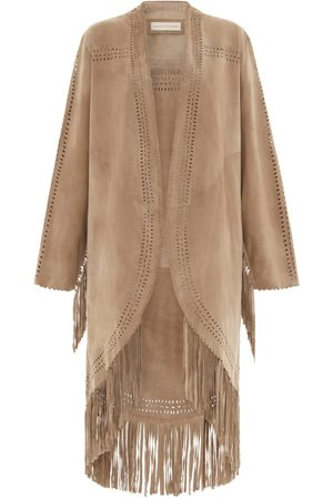 Women Leather Jackets - Women's Taupe Leather The Dolly - House of Dharma