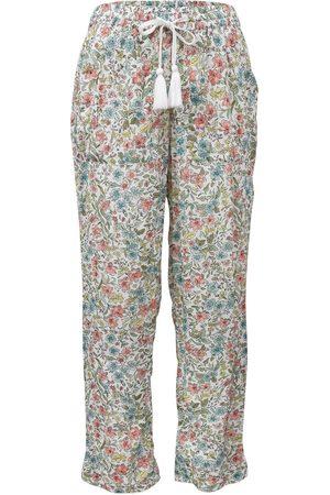 Women Pajamas - Women's Low-Impact Cotton Sadie Pyjama Bottoms Large Wallace Cotton