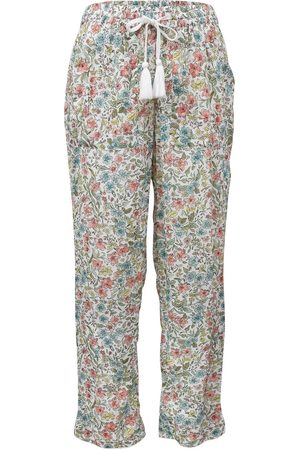 Women Pajamas - Women's Low-Impact Cotton Sadie Pyjama Bottoms Medium Wallace Cotton