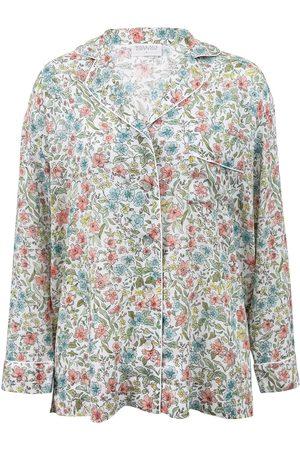 Women Pajamas - Women's Low-Impact Cotton Sadie Pyjama Shirt Small Wallace Cotton