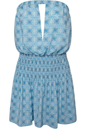 Women Party Dresses - Women's Artisanal Blue Gigi Mini Dress Large Josephine and me