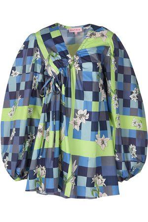 Women's Artisanal Cotton Ella Mini Dress Medium DAYRA