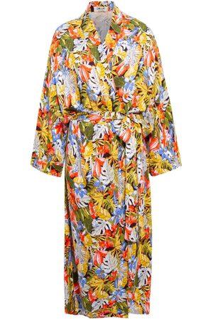 Women Kimonos - Women's Artisanal Fabric Sassari Kimono Chillax