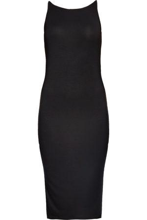 Women Bodycon Dresses - Women's Organic Black Fabric Marguerite Bodycon Dress Large Coco & Kandy