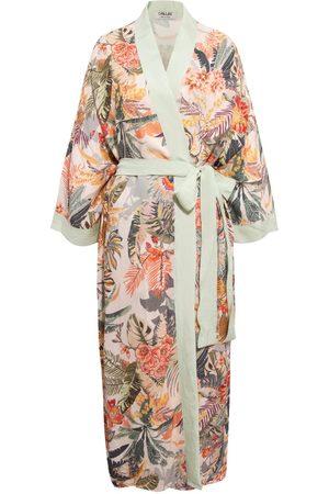 Women's Artisanal Fabric Mallorca Kimono Chillax