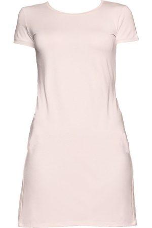 Women Party Dresses - Women's Organic Pink Modal Heather Dress- Large Coco & Kandy