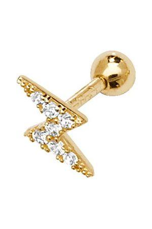 Women's Gold Elysia Cartilage Stud Earring CYBELLE & CO