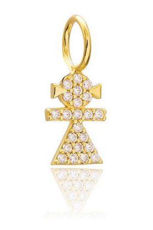 Women's Gold Baby Girl Charm CYBELLE & CO