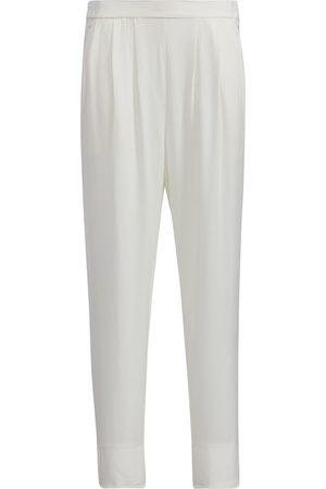 Women Sweats - Women's White Loungers Medium SoL