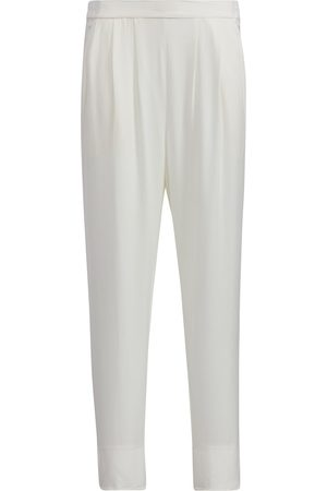 Women Sweats - Women's White Loungers Small SoL