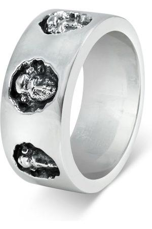 Men's Artisanal Sterling Silver Michelangelo - Oxidised Ring Girati