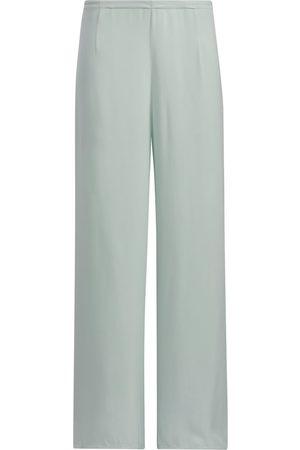 Women Sweats - Women's Blue Sleep Pants Small SoL