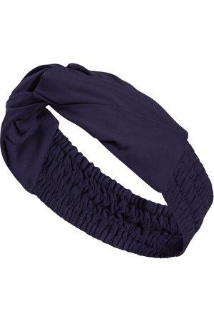Women Headbands - Women's Blue Knotted Headband SoL