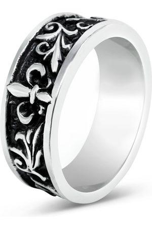 Men's Artisanal Sterling Silver Vagabondo - Oxidised Ring Girati