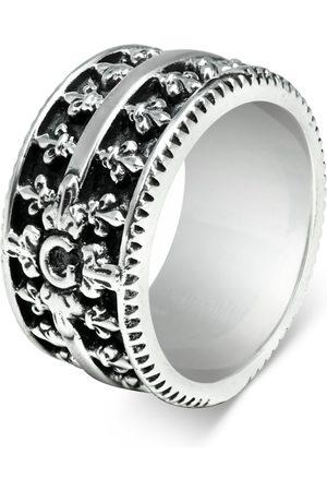 Men's Artisanal Sterling Silver Purezza - Oxidised Ring Girati