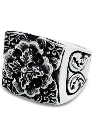Men Rings - Men's Artisanal Sterling Silver Fiorello - Oxidised Ring Girati