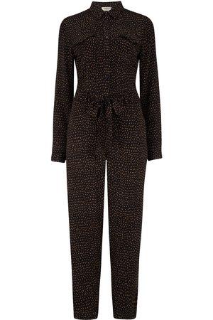 Women Jumpsuits - Women's Non-Toxic Dyes Black Charlie Boilersuit - , Mini Dash Large Sugarhill Brighton