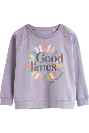Women's Artisanal Grey Cotton Good Times Sustainable Sweatshirt Medium Anorak