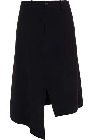 Maison Margiela Woman Asymmetric Crepe Skirt Size 36