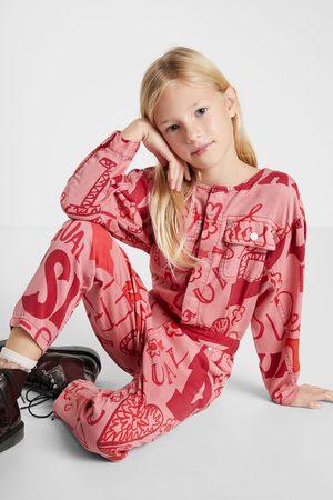 Desigual Girls Jumpsuits - Jumpsuit logomania