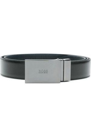 HUGO BOSS 50424643 004 BLACK Furs & Skins->Bovine Leather (top grain)
