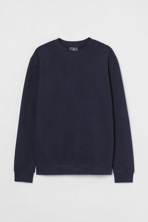 H&M Textured-knit Shirt