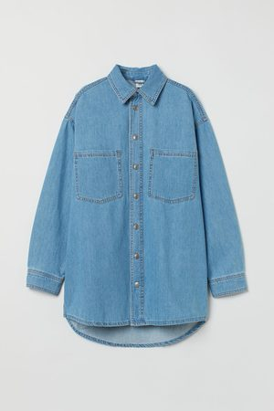 H&M Oversized Denim Shirt