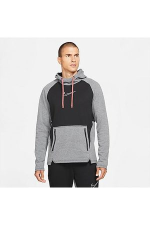 Nike Men Hoodies - Men's Therma-FIT Pullover Training Hoodie in / Size Small Cotton/Polyester/Fleece