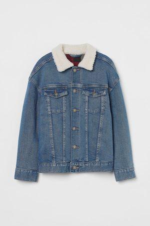 H&M Kids Denim Jackets - Collared Denim Jacket
