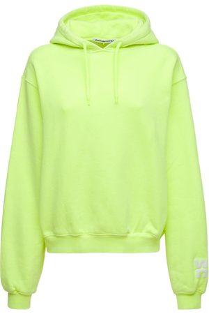 Alexander Wang Cotton Terry Sweatshirt Hoodie