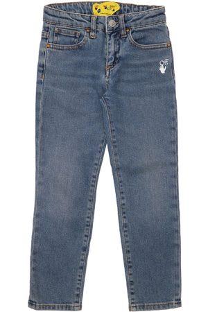 OFF-WHITE KIDS Girls Stretch - Stretch Cotton Jeans