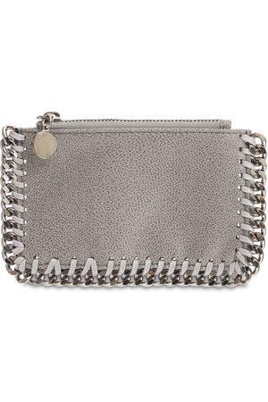 Stella McCartney Mini Falabella Faux Leather Card Holder