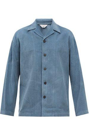 Le17septembre Homme Cuban-collar Cotton-corduroy Shirt - Mens