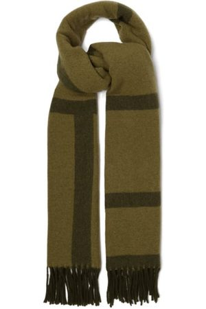 Totême Women Scarves - Monogram-jacquard Wool Scarf - Womens - Multi