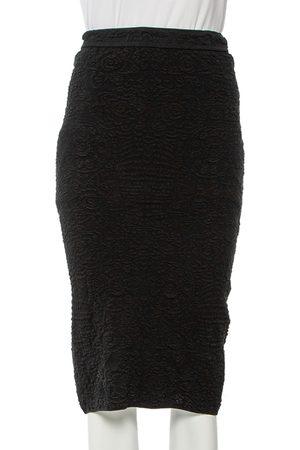 M Missoni Textured Knit Pencil Skirt S