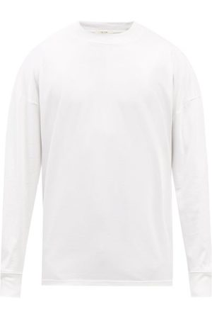 The Row Drago Cotton-jersey Long-sleeved T-shirt - Mens