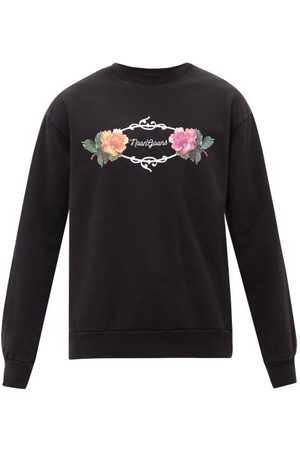 NOON GOONS Garden Logo-print Cotton-jersey Sweatshirt - Mens
