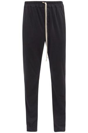 Rick Owens Men Sweatpants - Berlin Cotton-jersey Track Pants - Mens