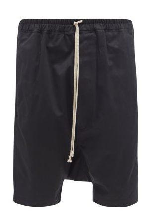 Rick Owens Pods Cotton-twill Shorts - Mens