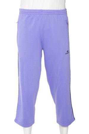 Balenciaga Knit Contrast Trim Ankle Length Track Pants M