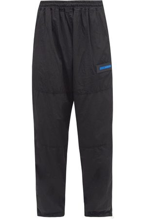 Aries Men Sweatpants - Windcheater Shell Track Pants - Mens