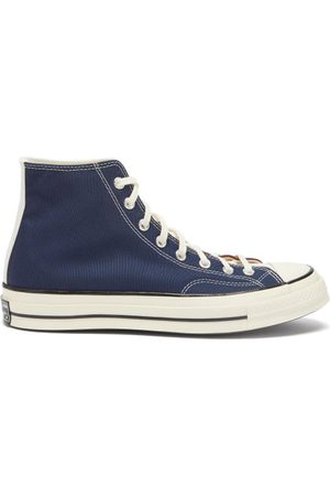 Converse Chuck 70 High-top Canvas Trainers - Mens - Navy