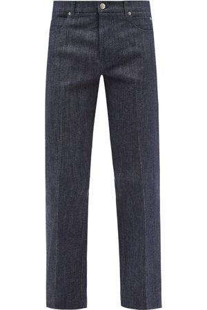 Le17septembre Homme Straight-leg Cotton-blend Denim Jeans - Mens - Indigo