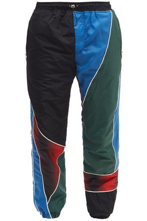 Ahluwalia Marshall Recycled-shell Track Pants - Mens - Multi