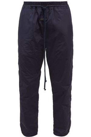 Fear Of God Shell Track Pants - Mens - Navy