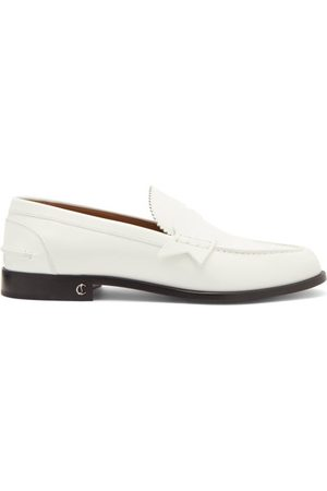 Christian Louboutin Men Loafers - No Penny Leather Loafers - Mens