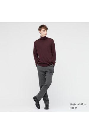 UNIQLO Men Long sleeves - Men's Extra Fine Merino Turtleneck Long-Sleeve Sweater, , XXS