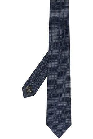 Ermenegildo Zegna Micro-check silk tie