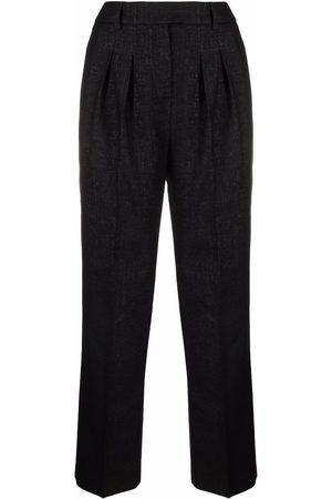 Karl Lagerfeld Bouclé tailored trousers