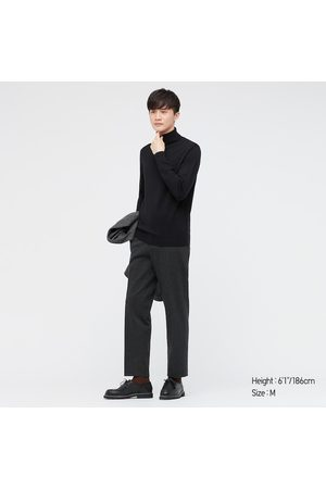UNIQLO Men's Extra Fine Merino Turtleneck Long-Sleeve Sweater, , XXS
